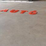 Új Veres Autó felirat